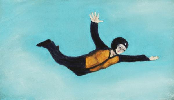 Free Fall Print by Anastasiya Malakhova