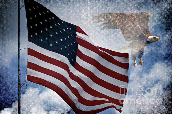 Freedom Print by Scott Pellegrin