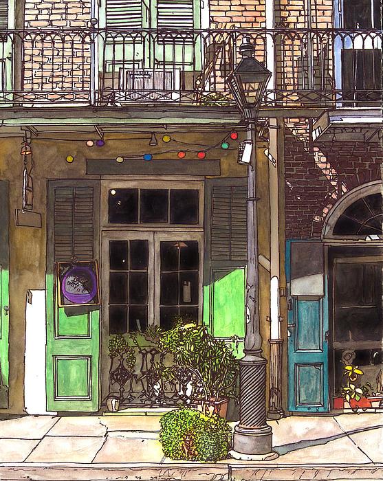 French Quarter Shop 369 Print by John Boles