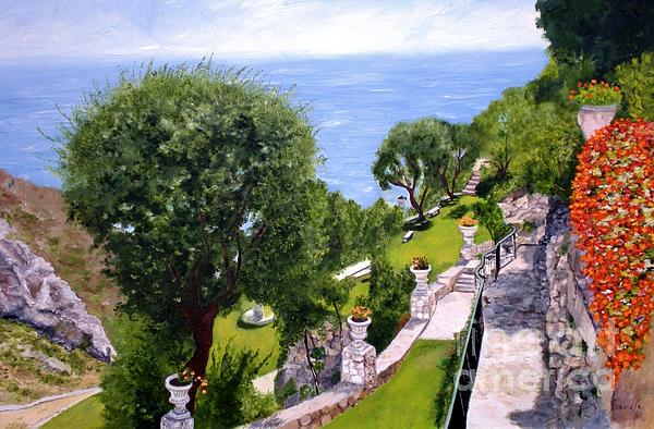 French Riviera Print by Graciela Castro