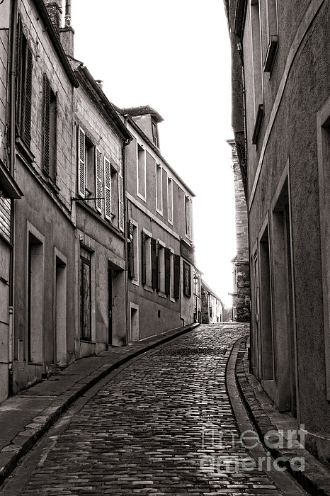 French Street Print by Olivier Le Queinec