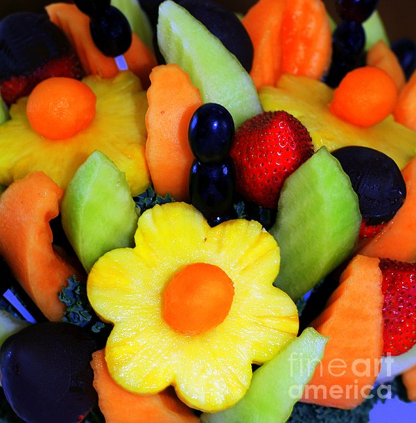 Fresh Fruit Print by Kathleen Struckle