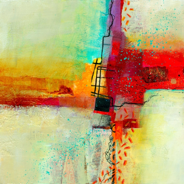 Fresh Paint #2 Print by Jane Davies