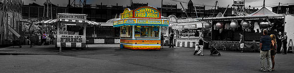 Fried Dough Print by Bob Orsillo