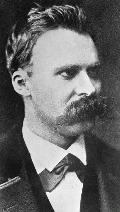 Friedrich Wilhelm Nietzsche Print by French Photographer