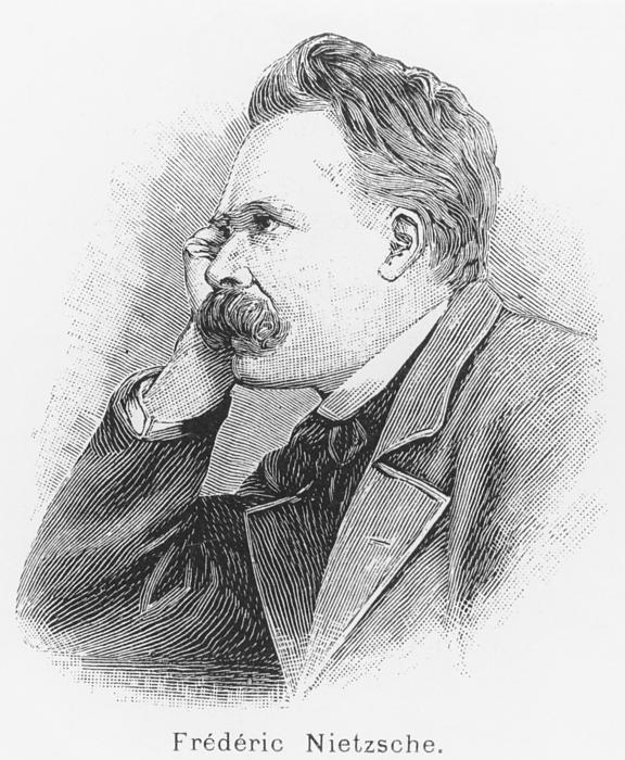 Friedrich Wilhelm Nietzsche Print by French School