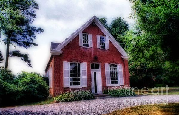 Friends Meeting House Print by Skip Willits