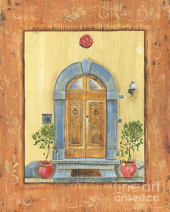 Front Door 1 Print by Debbie DeWitt