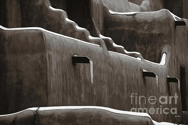 Frosting On The Clay Print by Jon Burch Photography