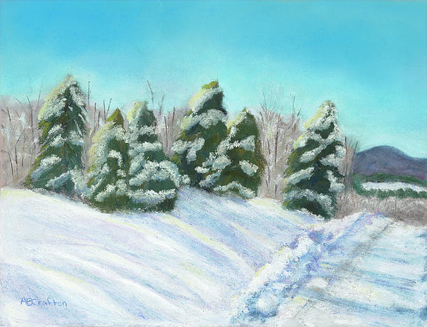 Frozen Sunshine Print by Arlene Crafton