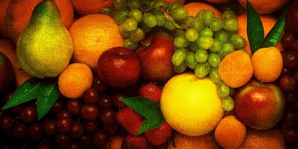 Fruit  Print by Mauro Celotti