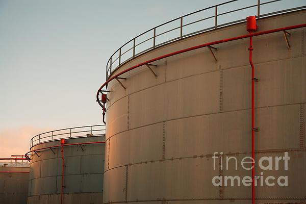 Fuel Tanks Print by Gaspar Avila