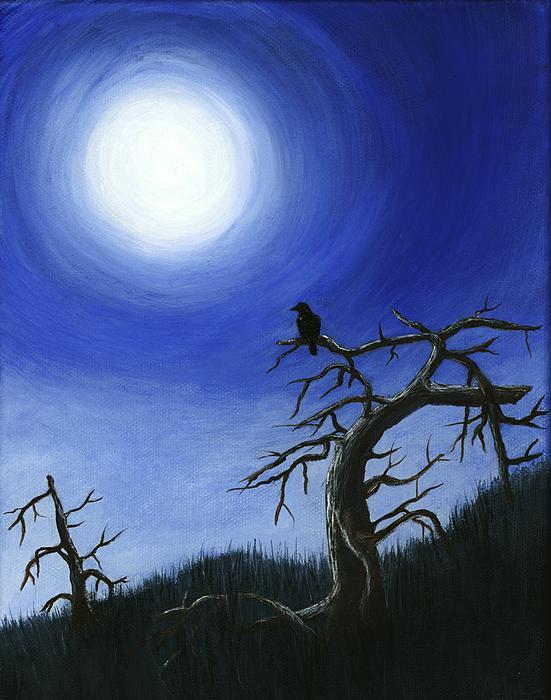 Full Moon Print by Anastasiya Malakhova
