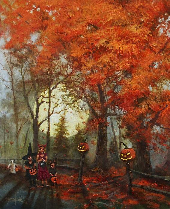Tom Shropshire - Full Moon on Halloween Lane