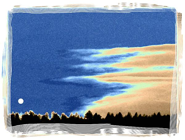 Full Moon Rising Print by Will Borden