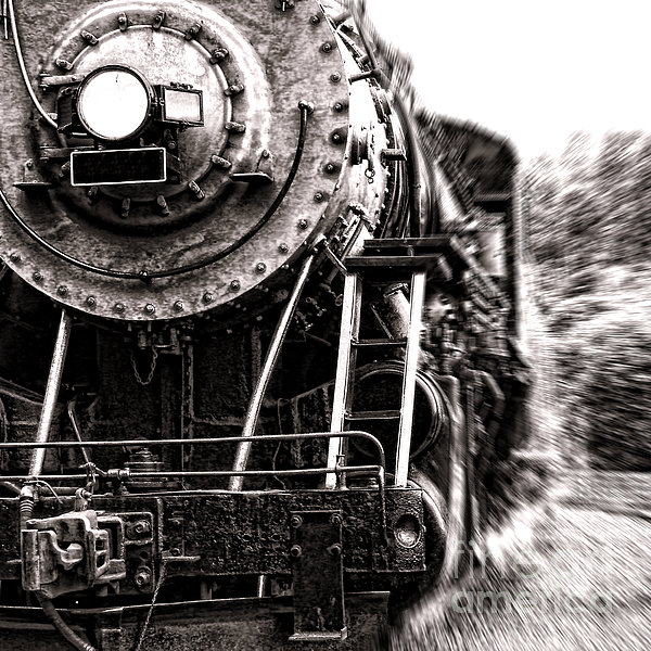Full Steam Print by Olivier Le Queinec