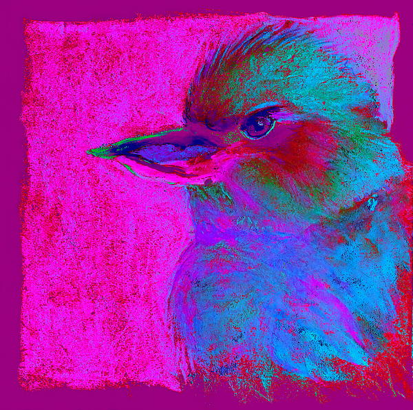 Sue Jacobi - Funky Kookaburra Australian Bird Art Prints