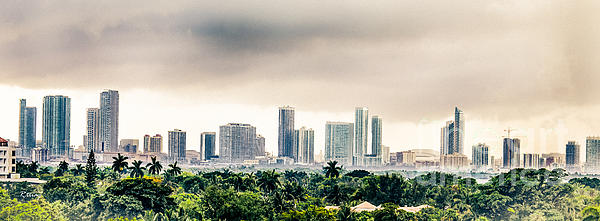 Rene Triay Photography - Funky Miami Skyline