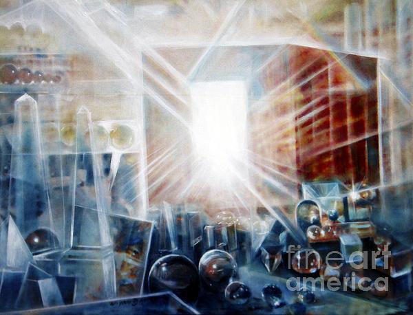Future City #5 Print by Yael Avi-Yonah
