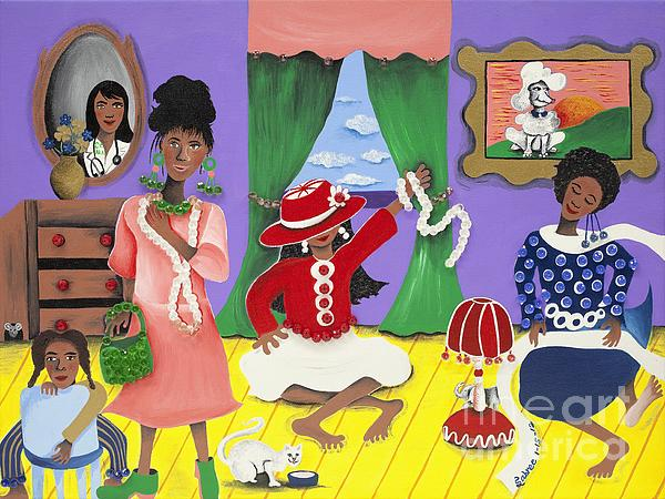 Future Reservations Print by Patricia Sabree