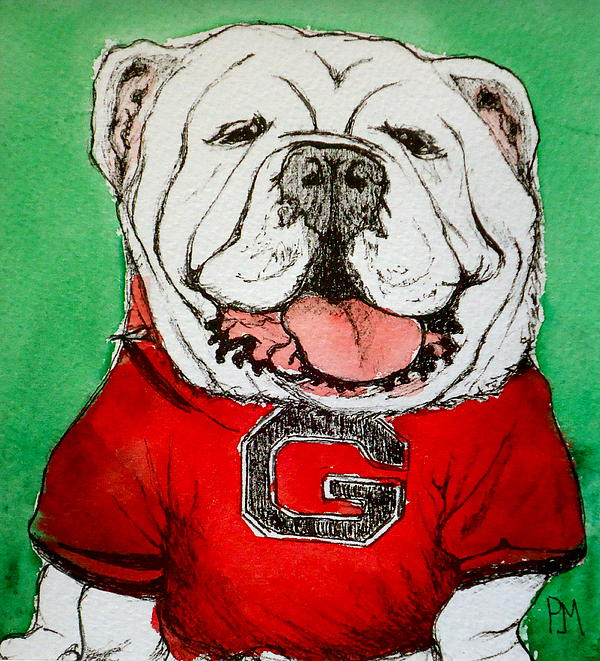 G Dawg Print by Pete Maier