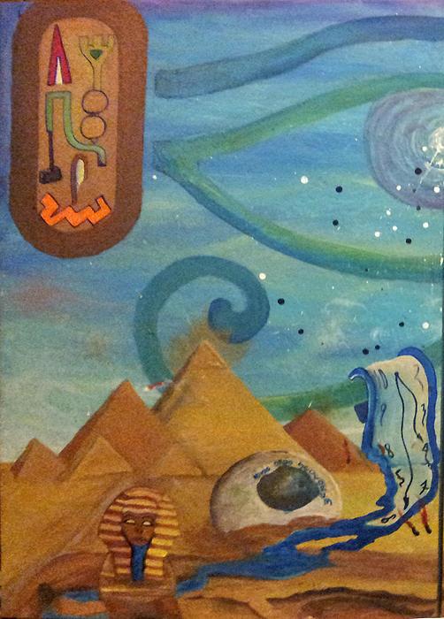 Galactic War Egyptian Release  Print by TheKingofIdeas TKOI