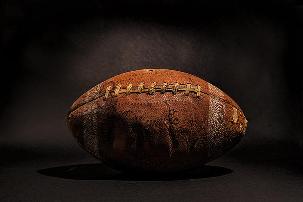 Game Ball Print by Peter Tellone