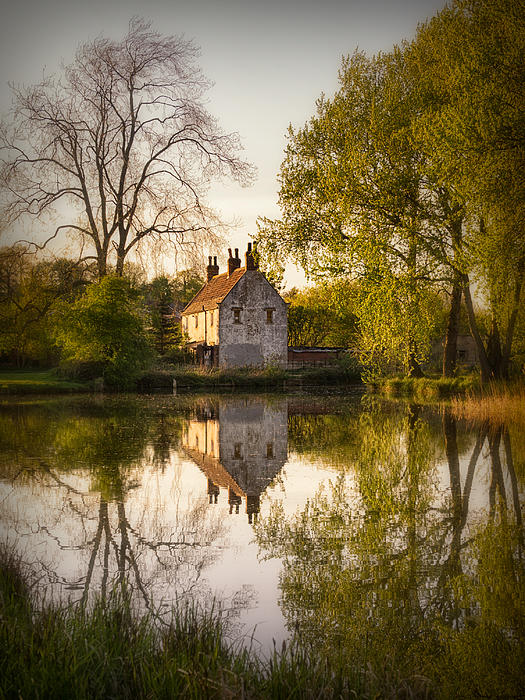 Game Keepers Cottage Cusworth Print by Ian Barber