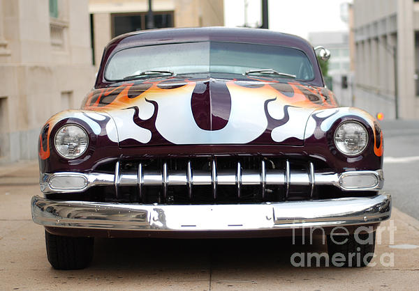 Gangster Car Print by Jt PhotoDesign