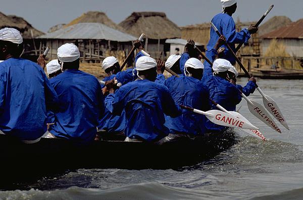 Being in Benin - Lake Ganvie. � Michel - Photos.TravelNotes.org