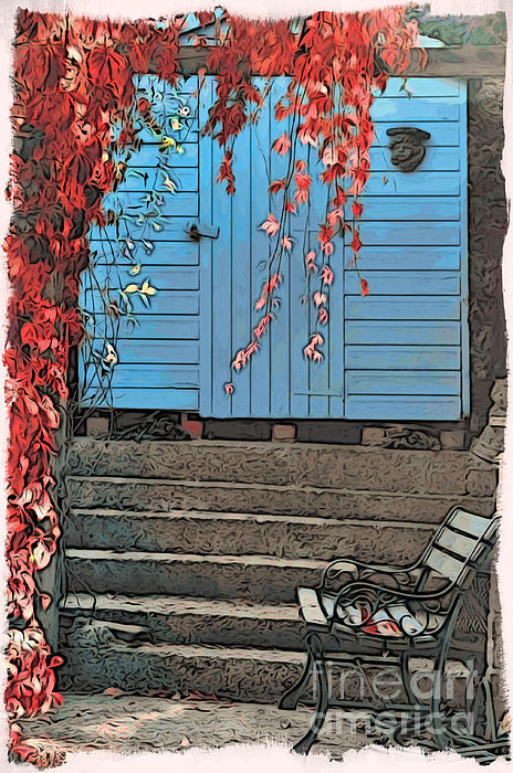 Garden Shed Print by Paul Stevens