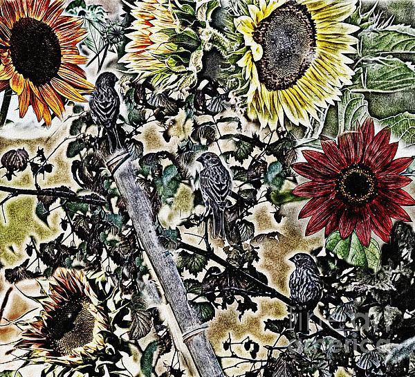 Erica Hanel - Garden Tapestry