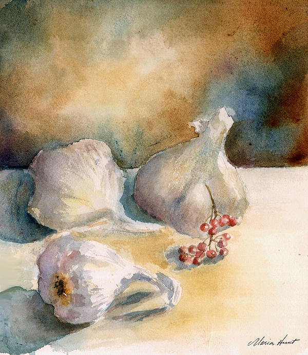 Maria Hunt - Garlic with Peppercorns