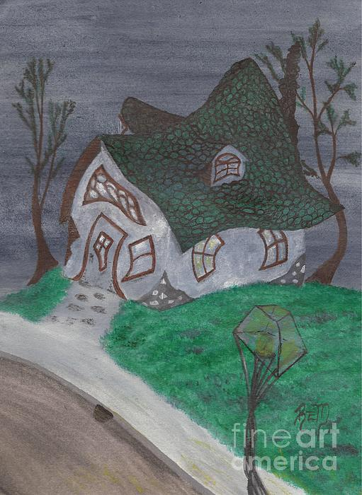 Gaslight Whimsy Print by Robert Meszaros