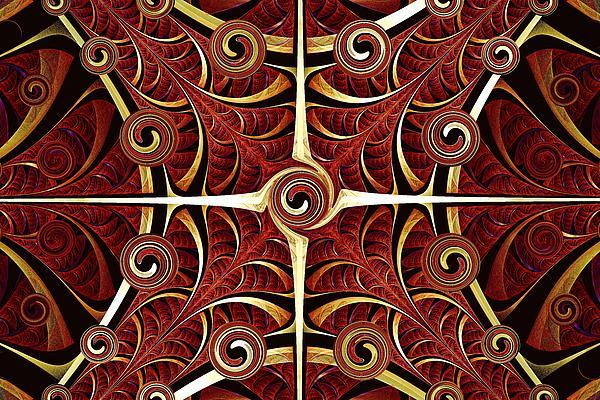 Gates Of Balance Print by Anastasiya Malakhova
