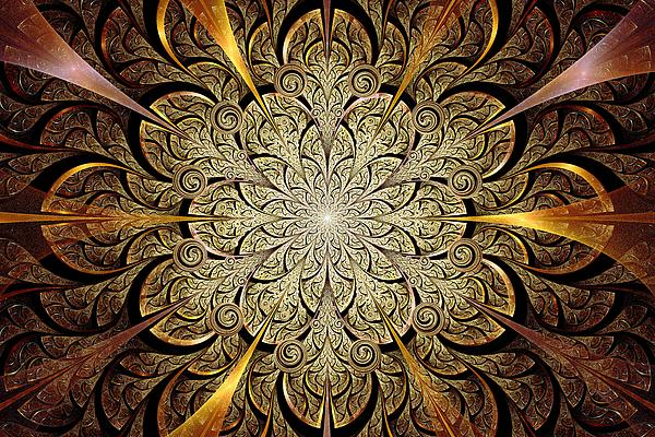 Gates Of Light Print by Anastasiya Malakhova