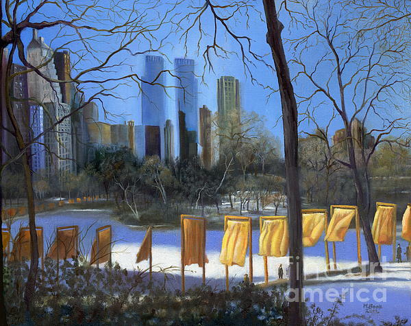 Gates Of New York Print by Marlene Book