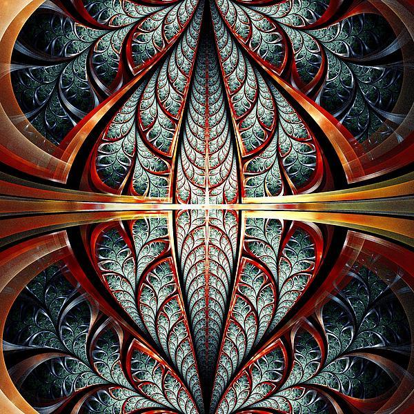 Gates Of Night Print by Anastasiya Malakhova
