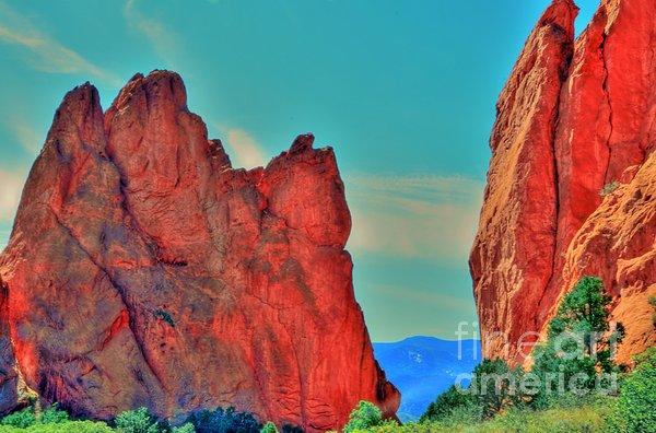 Gateway Rock Print by Kathleen Struckle