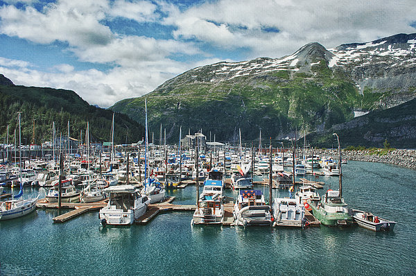 Gateway To Prince William Sound Alaska Print by Kim Hojnacki