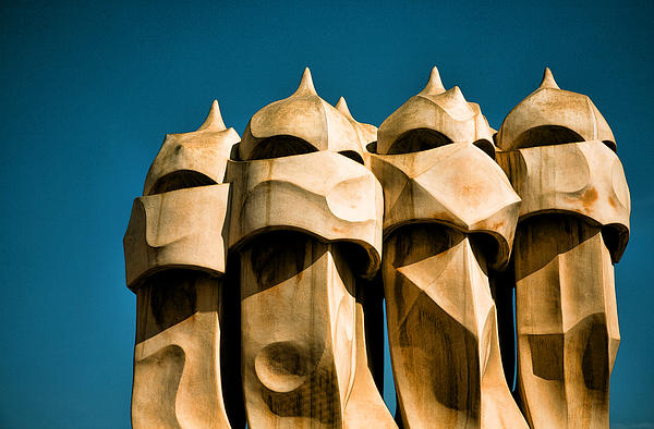 Gaudi's Soldiers Print by Joanna Madloch