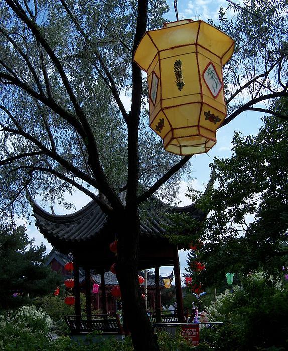Lingfai Leung - Gazebo with A Lantern
