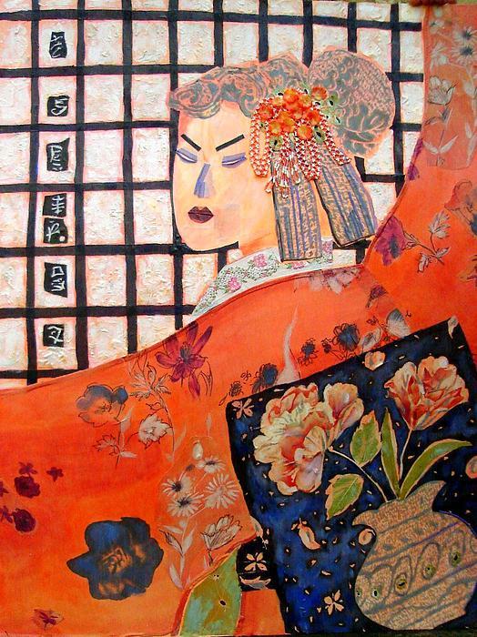 Geisha Girl Print by Diane Fine