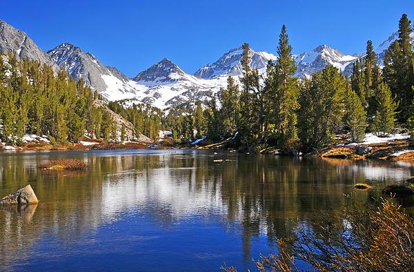 Gem Of The Sierras Print by Lynn Bauer