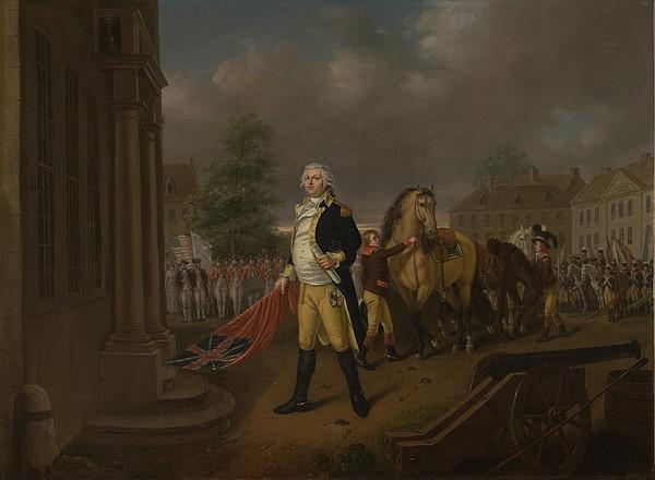 General Humphreys Delivering Print by Nicolas Louis Albert Delerive