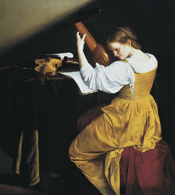 Gentileschi, Orazio Lomi 1565-1638. The Print by Everett