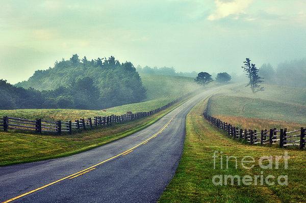 Gentle Morning - Blue Ridge Parkway II Print by Dan Carmichael
