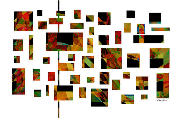 Geometric Design - Abstract - Art Print by Ann Powell