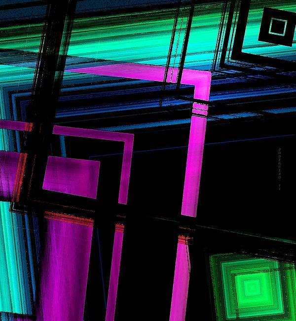Geometric Style Print by Mario  Perez