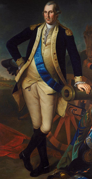 George Washington Print by Charles Wilson Peale